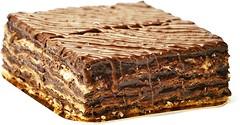 Фото ТМ Юрка Вербила торт Наполеон шоколадный 500 г