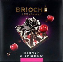Фото Brioche торт Пинчер с вишней 550 г