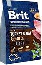 Фото Brit Premium Light Turkey & Oat 3 кг