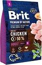 Фото Brit Premium Adult S 3 кг