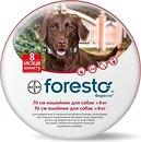 Фото Bayer Ошейник Foresto для собак от 8 кг 70 см