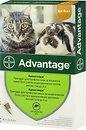 Фото Bayer Капли Advantage 40 для котов до 4 кг 1 шт.