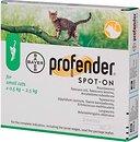 Фото Bayer Капли Profender Spot-On для котов 0.5-2.5 кг 2 шт.