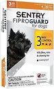 Фото Sentry Капли FiproGuard для собак до 10 кг 3 шт.