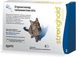 Фото Zoetis Капли Стронгхолд 6% для котов 2.6-7.5 кг 3 шт.
