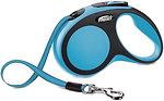 Фото Flexi Поводок-рулетка ленточная New Comfort S 5 м / 15 кг blue