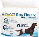 Фото Croci Пояс гигиенический Dog Nappy Male Version XL 60-85 см 12 шт. (C6028998)