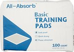 Фото All Absorb Пеленки Basic Training Pads 56x56 см 100 шт. (125314)