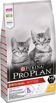 Фото Purina Pro Plan Original Kitten Chicken 10 кг