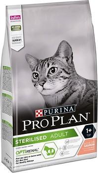 Фото Purina Pro Plan Sterilised Optirenal Salmon 1.5 кг