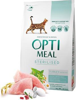 Фото Optimeal Sterilized Adult Cat 4 кг