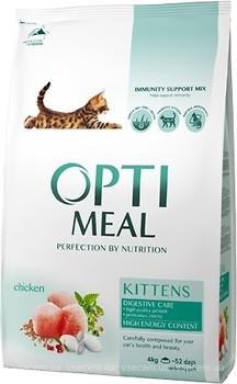 Фото Optimeal For Kitten Chicken 4 кг