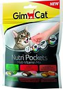 Фото GimCat Nutri Pockets Multi-Vitamin Mix 150 г (400693)