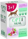 Фото Optimeal For Adult Cats With Lamb & Vegetables in jelly 4x85 г