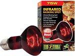 Фото Exo Terra Infrared Basking Spot / Heat Glo Infrared R20/75 Вт (PT2142)