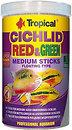Фото Tropical Cichlid Red & Green Medium Sticks 1 л (63726)